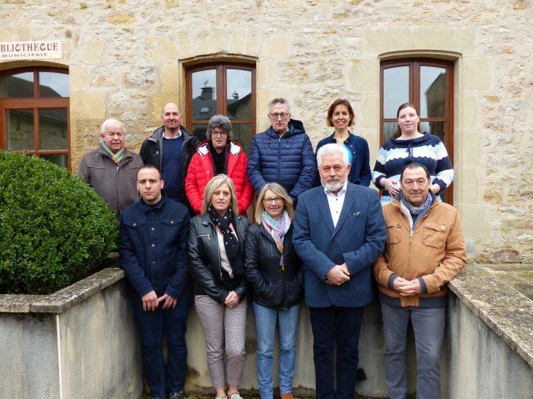 Equipe municipale de Saint Saturnin de Lenne